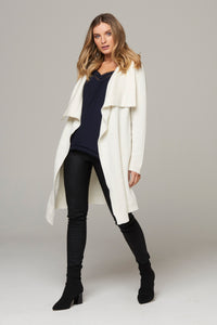 Elina Waterfall Cardigan - Cream