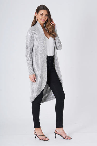 Grandpa Cardigan - Grey