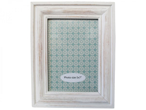 Whitewash Photo frame 5x7