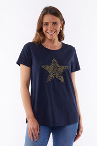 All Star Tee - Navy