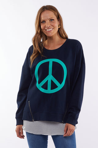 Love & Peace Crew - Navy