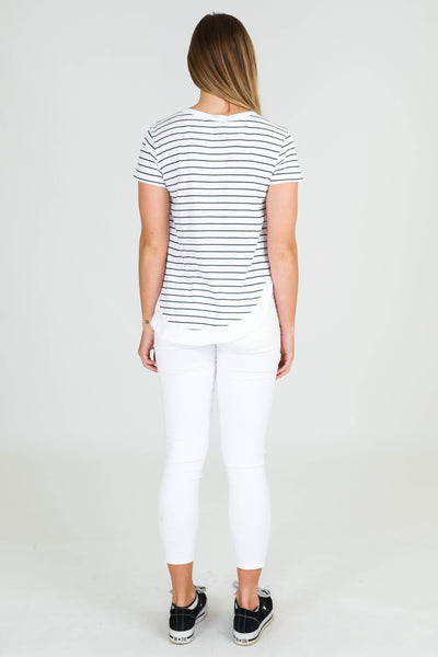 Paddington Tee - Stripe