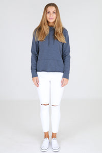 Greta Sweater - Steel Blue