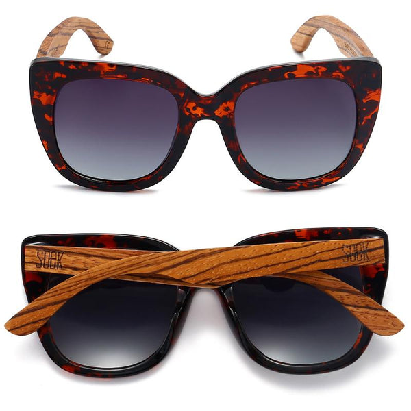 Riviera Sunglasses - Tortoise Brown