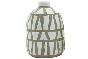 Amira Vase - White (Medium)