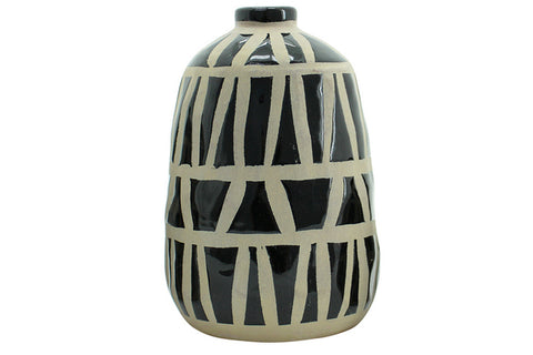 Amira Vase - Black (Large)