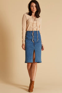 Alta Skirt - Denim