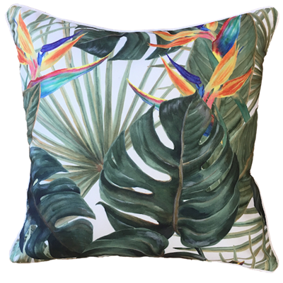 Birds of Paradise Cushion