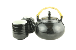 Black Jade 3pc Tea set