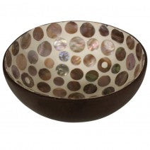 Coco Shell Dot Natural Bowl