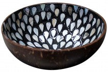 Coco Shell Black Bowl