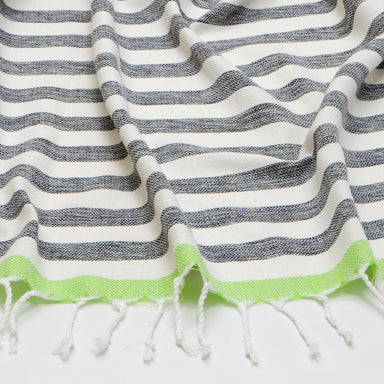 Frais Towel - Grey/Lime
