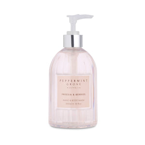 Hand & Body Wash - Freesia & Berries
