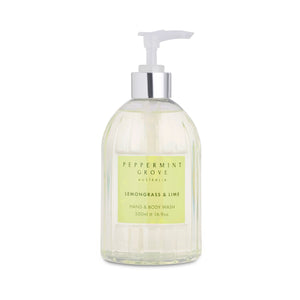 Hand & Body Wash - Lemongrass & Lime