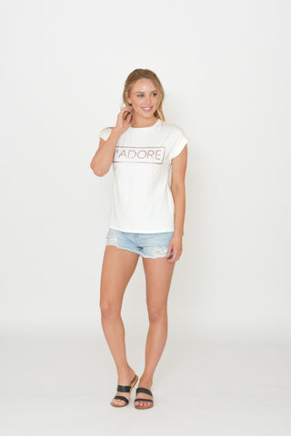 J'Adore T-shirt in White