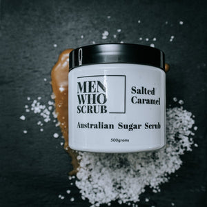 Men who Scrub - Salted Caramel