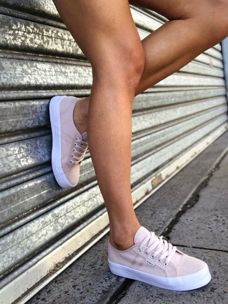 Lift Canvas Sneakers - Blush
