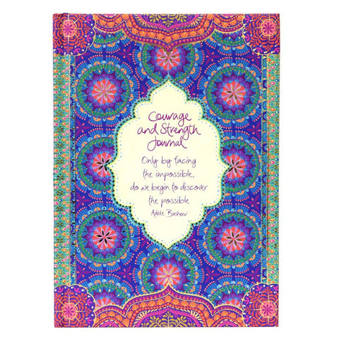 Courage and Strength Guided Journal