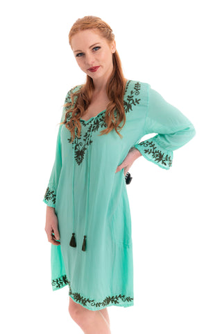 Isla Dress - Mint