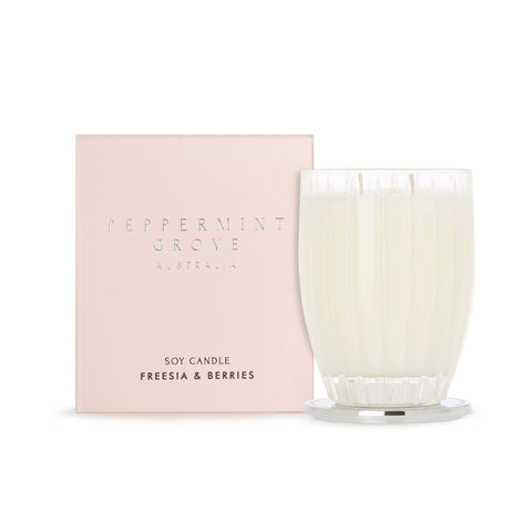 Peppermint Grove Candle - Freesia & Berries
