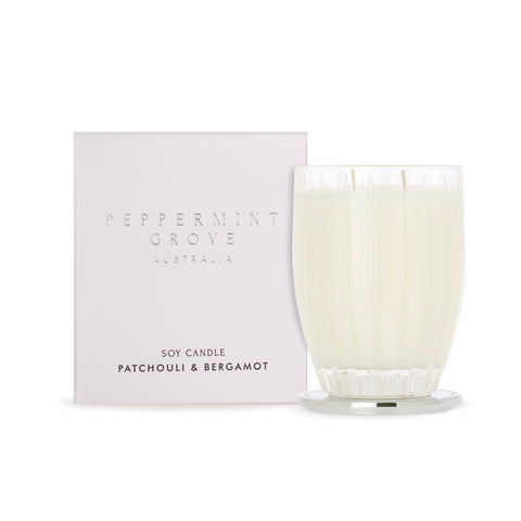Peppermint Grove Candle - Patchouli & Bergamot