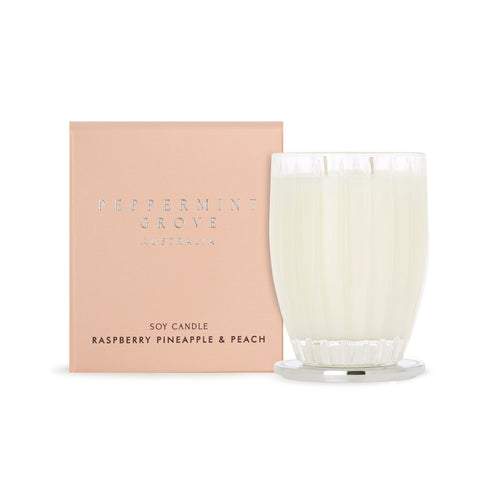Peppermint Grove Candle - Rasberry Pineapple & Peach
