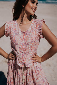 Daizy Blouse - Wild Rose