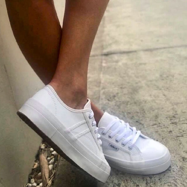 Cass Sneakers - White