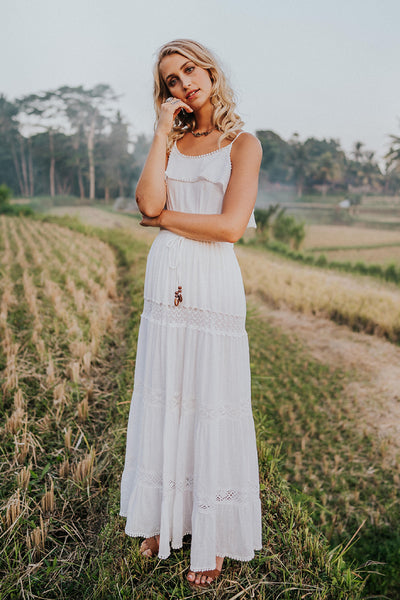 Sahara Maxi Dress - White