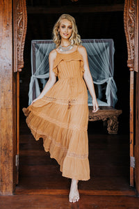 Sahara Maxi Dress - Marigold