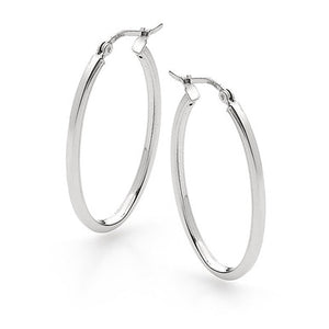 Classic Oval Hoops