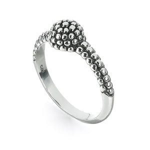 Sterling Silver Surf Bubbles Ring