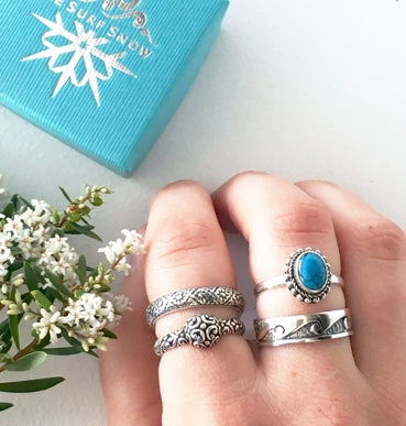 Sea Princess Ring with Turquoise