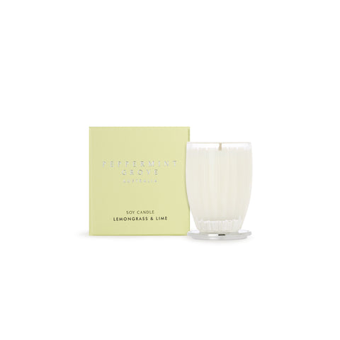 Peppermint Grove Candle  (Small) - Lemongrass & Lime