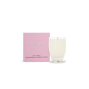 Peppermint Grove Candle  (Small) - Passionfruit & Purple Violet
