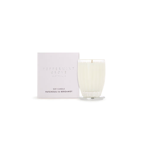Peppermint Grove Candle  (Small) - Patchouli & Bergamot