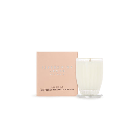 Peppermint Grove Candle  (Small) - Raspberry Pineapple & Peach