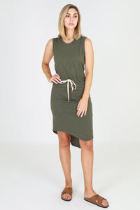 Tyler Dress - Khaki