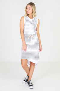 Tyler Dress - Stripe