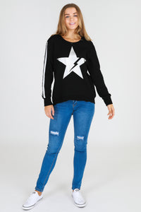 Thunder Sweater - Black
