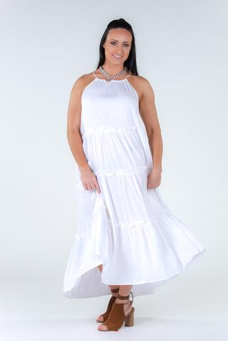 Weekender Maxi Dress - White