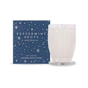 Peppermint Grove Candle - Crushed Pine & Clove (Xmas)