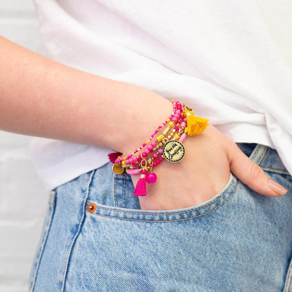 You Are Amazing Charm Bracelet