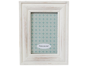 Whitewash Photo Frame 4x6