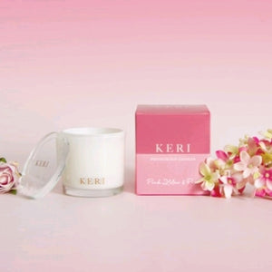 Keri Luxury Soy Candle - Pink Lilac & Rose