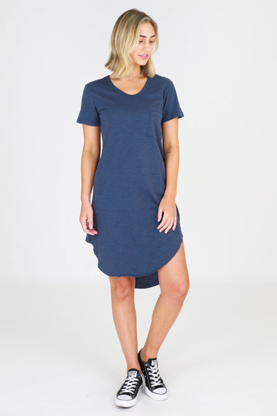 Milly Dress - Indigo