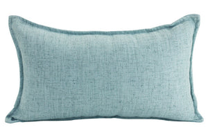 Linen Cushion - Mint