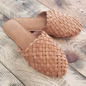Woven Mules