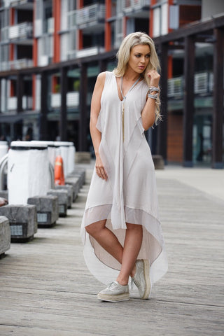 Milan Hi-Low Dress