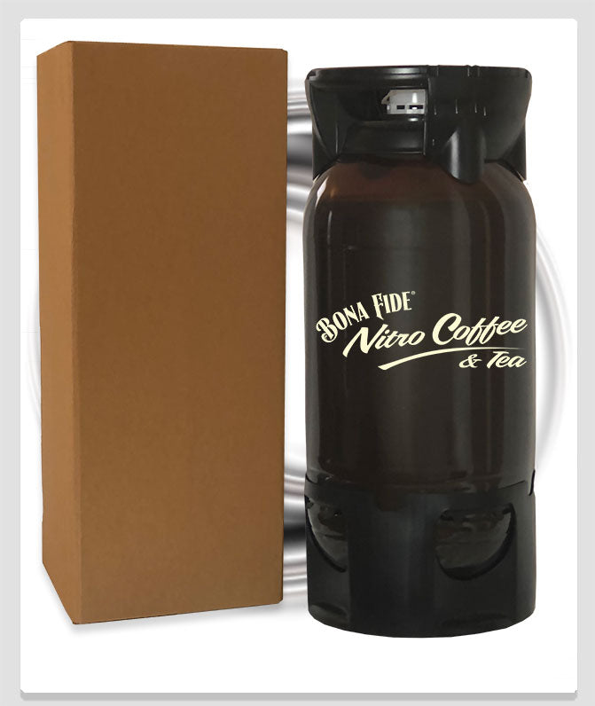 Vanilla Nitro Coffee with the box and can be shipped to whole USA